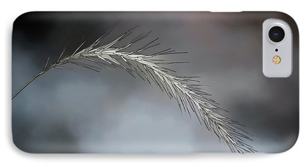 IPhone Case featuring the photograph Foxtail - Abstract Art by Kerri Farley