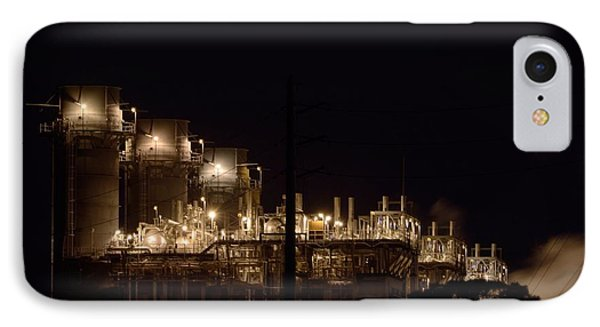 IPhone Case featuring the photograph Fpl Natural Gas Power Plant  by Bradford Martin