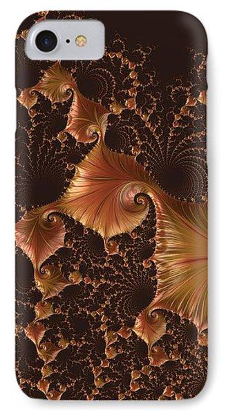 Fractal Alchemy IPhone Case by Susan Maxwell Schmidt