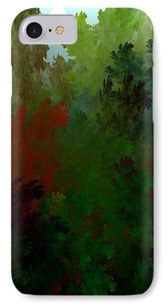 Fractal Landscape 11-21-09 Phone Case by David Lane