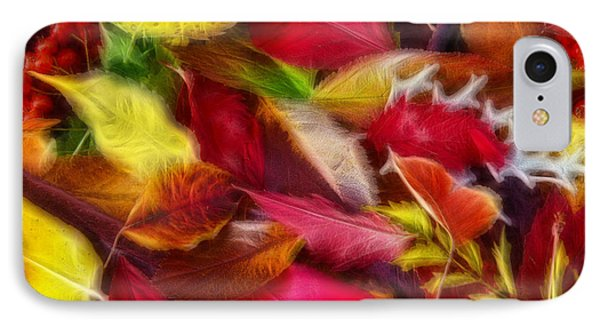 IPhone Case featuring the photograph Fractalius Leaves by Shane Bechler