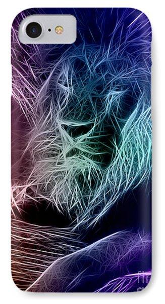 Fractalius Lion IPhone Case