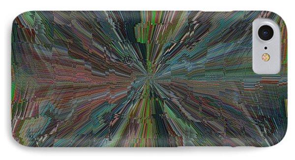 Fractured Frenzy Phone Case by Tim Allen