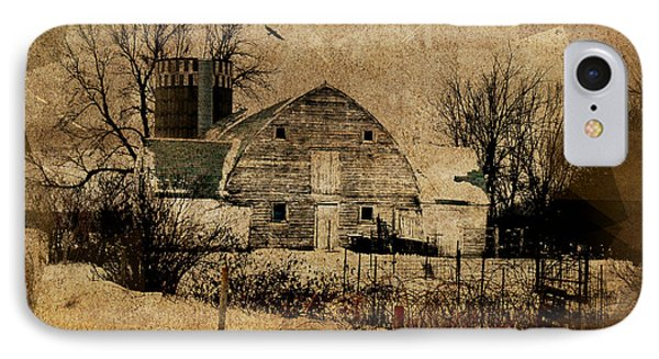 Fragmented Barn  Phone Case by Julie Hamilton