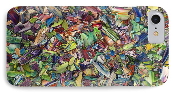 Fragmented Spring IPhone Case by James W Johnson