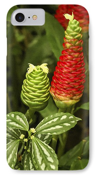 Fragrant Red Phone Case by Carolyn Marshall