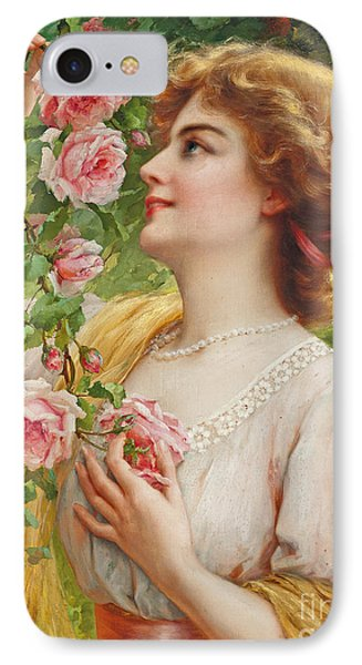 Fragrant Roses IPhone Case by Emile Vernon