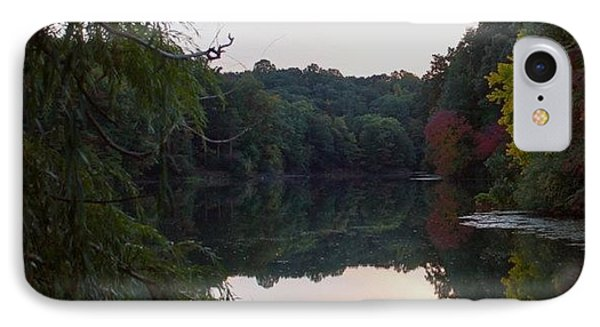 Framed Lake Reflection  Phone Case by Justin Connor