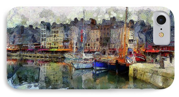 France Fishing Village Phone Case by Claire Bull