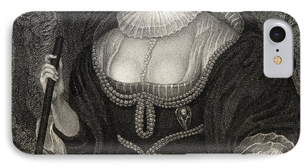 Frances Howard Duchess Of Richmond IPhone Case by Vintage Design Pics