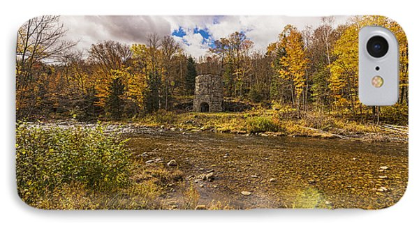 IPhone Case featuring the photograph Franconia Iron Works by Anthony Baatz