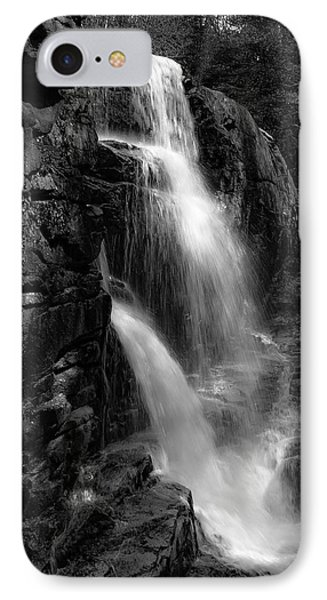 IPhone Case featuring the photograph Franconia Notch Waterfall by Jason Moynihan