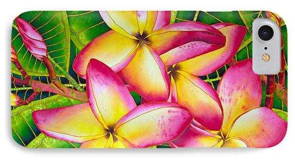 Frangipani Flower IPhone Case by Daniel Jean-Baptiste