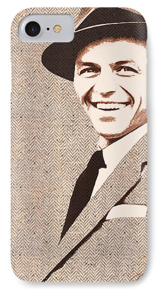 Frank In Tweed IPhone Case by Larry Hunter