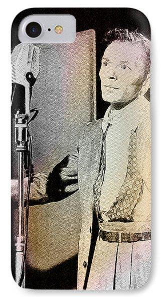 Frank Sinatra 1947 Phone Case by Ericamaxine Price
