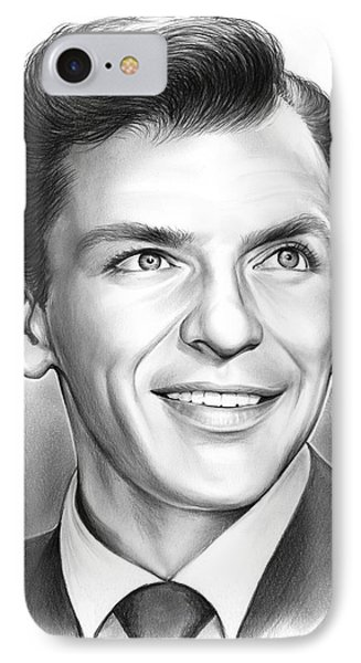 Frank Sinatra IPhone 7 Case by Greg Joens