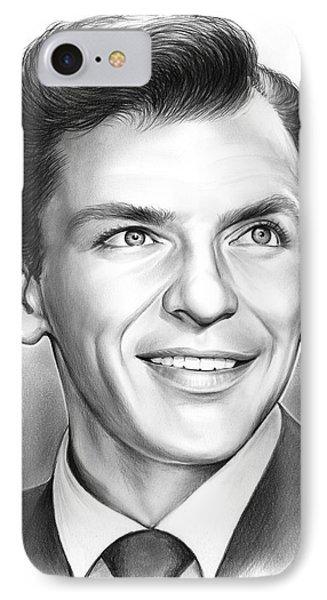 Frank Sinatra IPhone 7 Case by Greg Joens