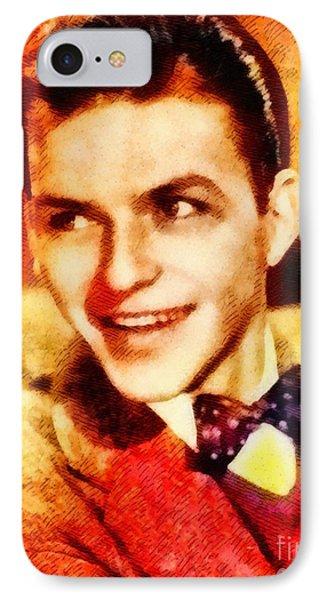 Frank Sinatra, Hollywood Legend By John Springfield IPhone Case by John Springfield