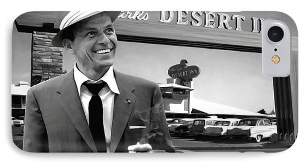 Frank Sinatra In Las Vegas IPhone Case