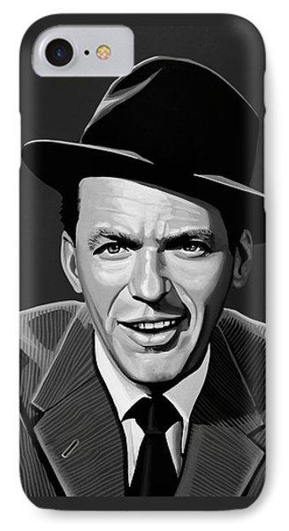Frank Sinatra IPhone Case by Meijering Manupix