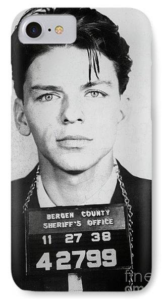 Frank Sinatra Mugshot IPhone Case