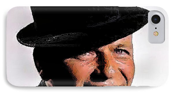 Frank Sinatra IPhone Case by Rod Jellison