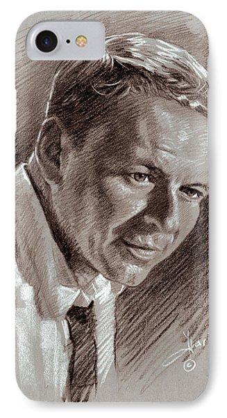 Frank Sinatra  IPhone Case by Ylli Haruni