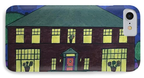 Frank Spies Home. Historical Menominee Art. IPhone Case