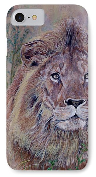IPhone Case featuring the painting Frank by Tom Roderick