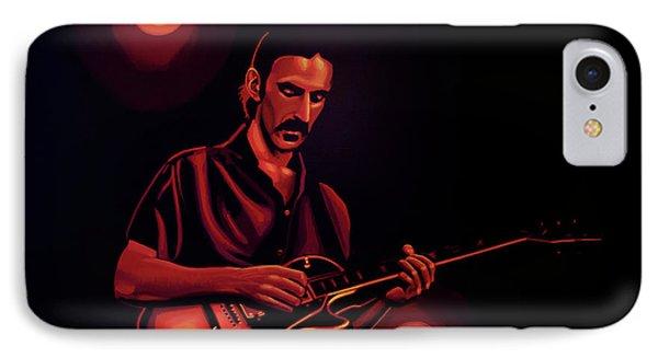 Frank Zappa 2 IPhone Case by Paul Meijering