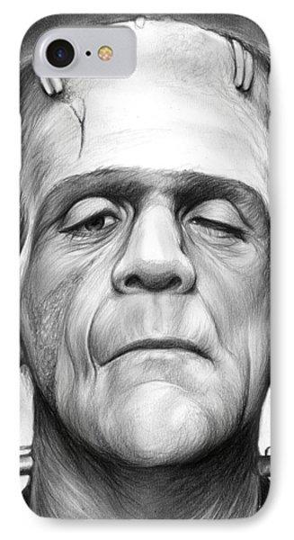 Frankenstein IPhone Case by Greg Joens