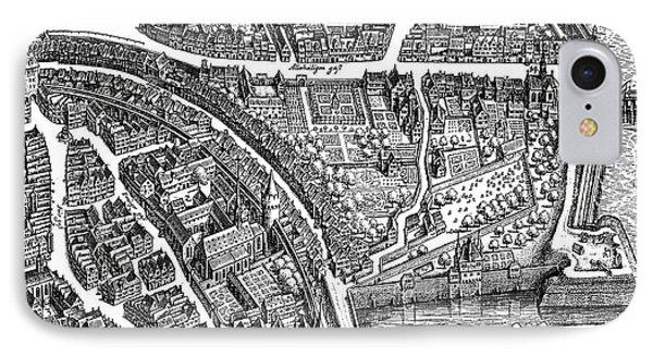 Frankfurt Am Main, 1628 IPhone Case by Matthaus Merian the Elder