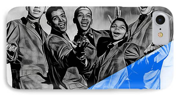 Frankie Lymon And The Teenagers IPhone Case by Marvin Blaine