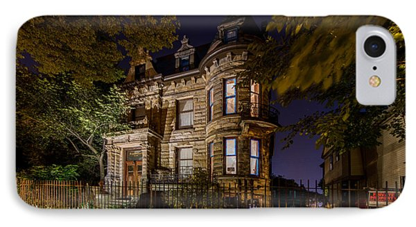 Franklin Castle  IPhone Case by Frank  Cramer