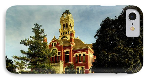 Franklin County Courthouse - Hampton Iowa IPhone Case by L O C