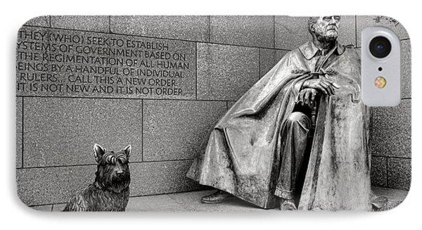 Franklin Delano Roosevelt Sculpture  IPhone Case