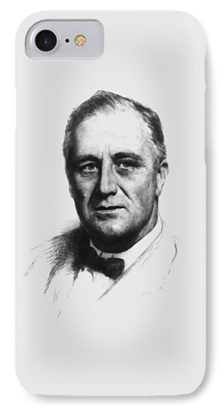 Franklin Roosevelt Phone Case by War Is Hell Store