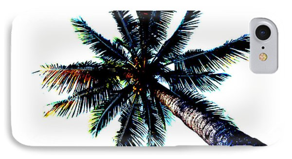 Frazzled Palm Tree IPhone Case
