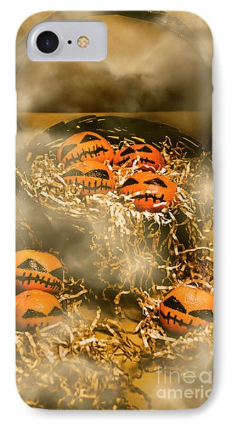 Freaky Halloween Fruits IPhone Case by Jorgo Photography - Wall Art Gallery