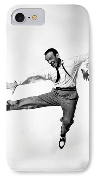 Fred Astaire In Daddy Long Legs 1955 IPhone Case by Mountain Dreams