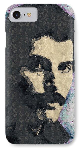 Freddie Mercury Illustration IPhone Case
