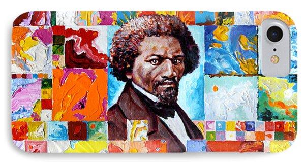 Frederick Douglass Phone Case by John Lautermilch