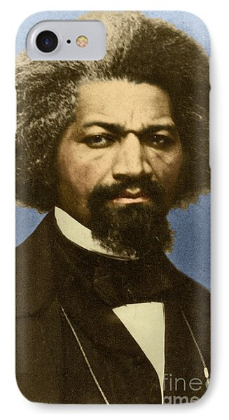 Frederick Douglass IPhone Case by Science Source