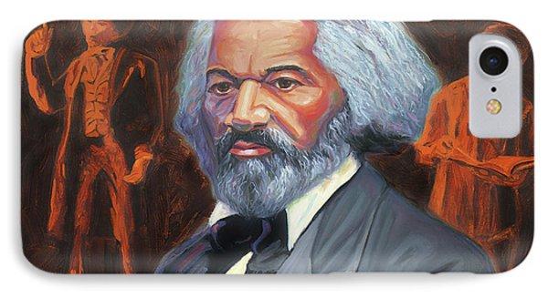 Frederick Douglass IPhone Case by Steve Simon