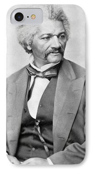 Frederick Douglass IPhone Case by War Is Hell Store