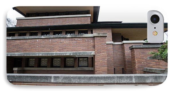 Frederick Robie House IPhone Case by David Bearden