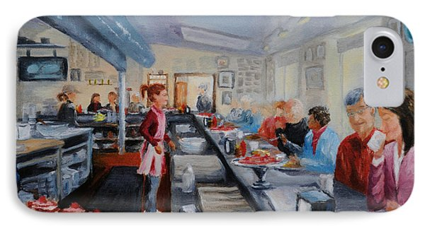 Fred's Breakfast Of New Hope Phone Case by Cindy Roesinger