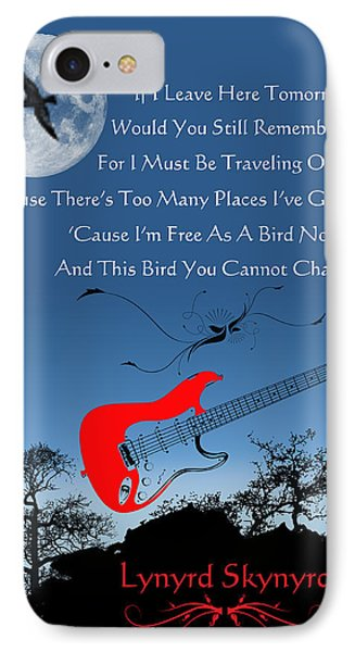 Free Bird Phone Case by Michael Damiani
