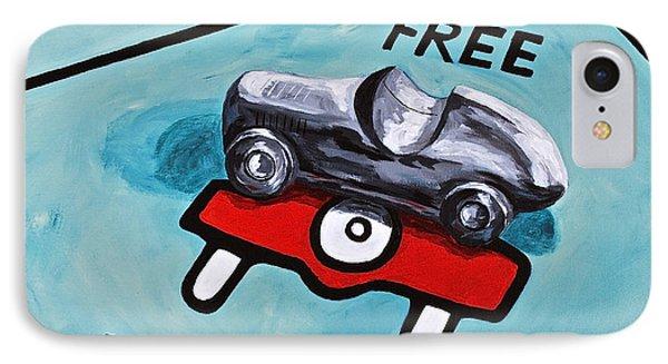 Free Parking Phone Case by Herschel Fall