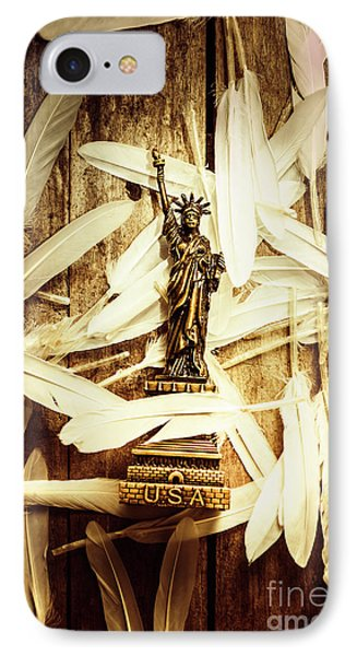 Dove iPhone 7 Case - Freedom And Independence by Jorgo Photography - Wall Art Gallery